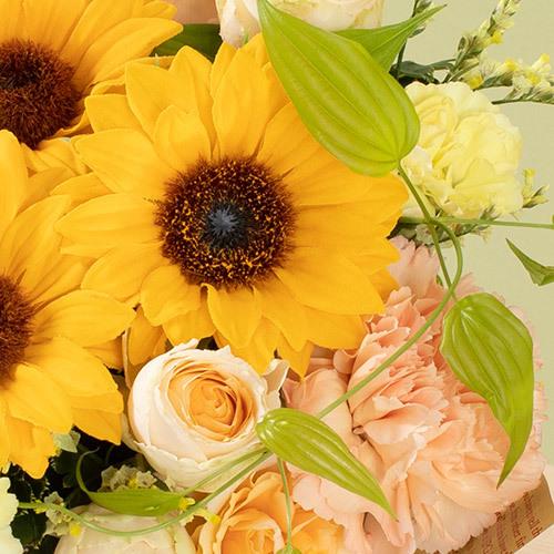 7月の旬の花 アレンジメント「ラフィット」