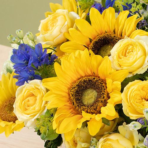 7月の旬の花 アレンジメント「ラトゥール」