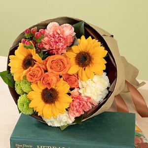 7月の旬の花 花束「ムートン」の商品画像