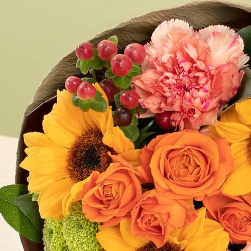 7月の旬の花 花束「ムートン」