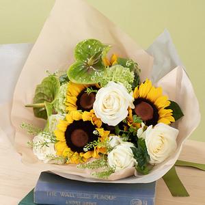 7月の旬の花 花束「オーブリオン」の商品画像