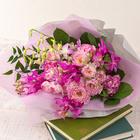 8月の旬の花 花束「オーブ」