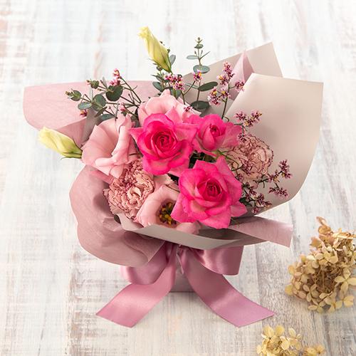 【日比谷花壇】そのまま飾れるブーケ「9月に贈る花言葉」