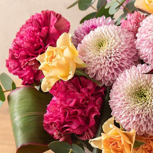 9月の旬の花 アレンジメント「菊凛」