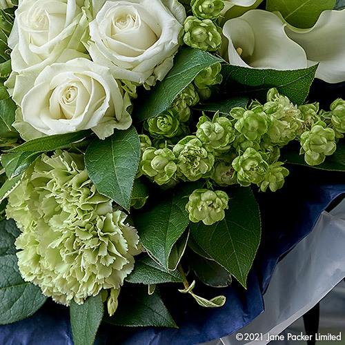 JANE PACKER 花束「ハンサムグリーン」