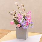 お正月 そのまま飾れるボックスブーケ「花年賀」