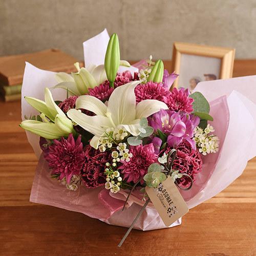 【日比谷花壇】【お供え用】 O・SO・NA・E flower 「11月のオリジナルアレンジメント」