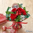 ディズニー そのまま飾れるブーケ「クリスマスギフト(ミッキー&ミニー)」